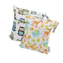 Wet Dry Bag Splice Cloth Diaper Wet Bags Waterproof Double