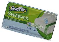 Swiffer Wet Refill System, Open Window Fresh, Cloth, 12/Box