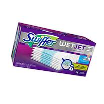 Swiffer Wetjet Pads with The Power of Mr. Clean Magic Eraser