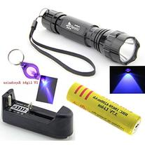 UltraFire Wf-501b G60 Uv 3w Ultraviolet LED Flashlight Torch