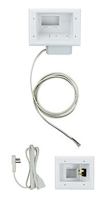 Datacomm Electronics 50-6623-WH-KIT Flat Panel TV Cable