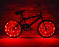 Brightz, Ltd. Red Wheel Brightz LED Bicycle Accessory Light
