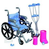 Journey Girls Wheelchair and Crutch Set