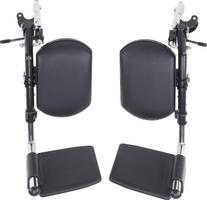 Wheelchair Elevating Legrests with Padded Calf Pads 1 Pair