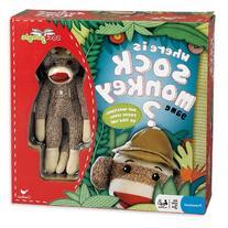 Where Is Sock Monkey Board Game