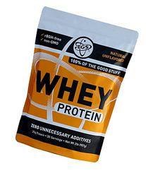 TGS All Natural 100% Whey Protein Powder - Unflavored,