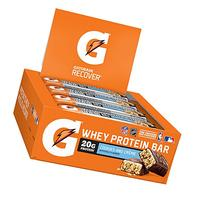 Gatorade Whey Protein Recover Bars, Cookies and Cream, 2.8 ounce bars