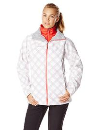 ColumbiaWhirlibird  Interchange Jacket, Womens, White Print
