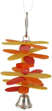 Paradise Whirly Ding Bird Toy