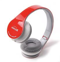 Beyution Wireless Built in Mic Bluetooth Headphone - Red