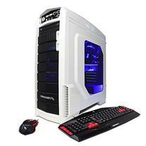 CyberPowerPC White/Blue Gamer Supreme Liquid Cool SLC8400