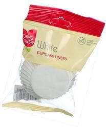 Cake Mate White Cupcake Liner - 50 Per Pack 12 Packs Per