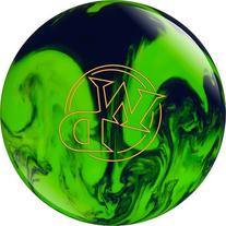 White Dot Bowling Ball- Lime/Slime