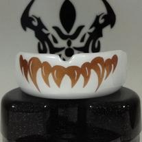 White Jagged Fang Mouthguards