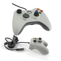 White Wired USB Game Pad Controller For MICROSOFT Xbox 360