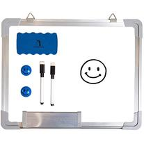 """Whiteboard Set - Dry Erase Board 15 x 12 """" + 1 Magnetic Dry"""