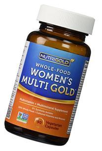 NutriGold Whole-Food Women's Multi Gold - 90 Veggie Capsules