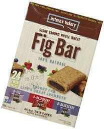 Nature's Bakery Whole Wheat Fig Bar, Vegan + Non-GMO,