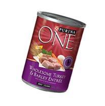 Purina ONE One Wholesome Turkey & Barley Entree - 12x13 oz