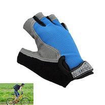 TOPCABIN Wicking Shockproof Bike Half Finger Glove Outdoor