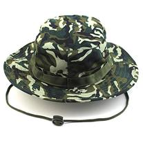Tinksky Adult Outdoor Sports Wide Brim Boonie Hat Cap