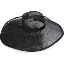 Isabel Benenato - wide brim hat - women - Cotton/Straw - M