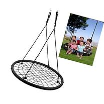 "40"" Wide Tree Net Swing Outdoor Spider Web Swing Children's"