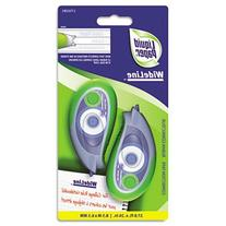 Paper Mate Liquid Paper Wideline Correction Tape, Pack of 2