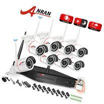 ANRAN 8 Channel 720P WIFI Wireless NVR Network Video