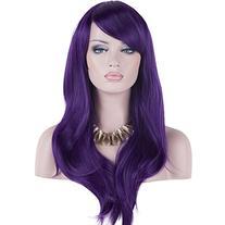 "DAOTS 28"" Wig Long Heat Resistant Big Wavy Hair Women"