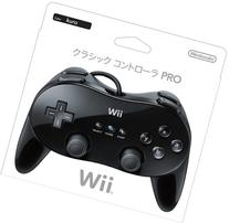 Wii Classic Controller Pro - Black