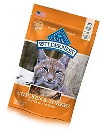 Blue Buffalo Chicken & Turkey Cat Treats, 2 oz Bag