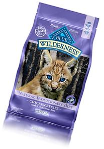 Blue Buffalo Kitten 100-Percent Grain Free Chicken Formula