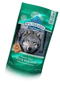 BLUE Wilderness Trail Treats Grain Free Duck Biscuits Dog