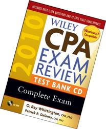Wiley CPA Exam Review 2010 Test Bank CD - Complete Set