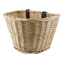 """Sunlite Classic Willow Basket, 14 x 10 x 8.5"""", Natural"""