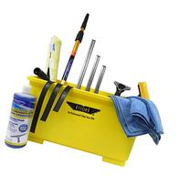 Ettore Professional Window Cleaning Kit with 4' Extension