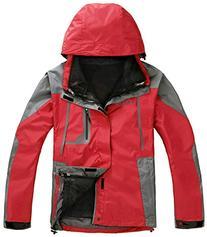 APTRO Men's Windproof Jacket 3 in 1 Outdoor Casual Wear A