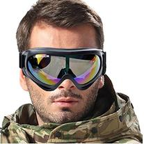 WOLFBIKE Mens Bike Bicycle Motorcycle Goggle Ski Snowmobile
