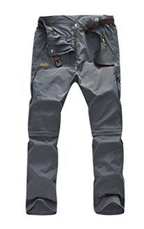 Geval Men's Windproof Waterproof Quick Drying Outdoor Pants