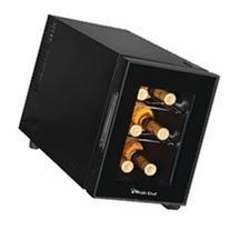 6-Bottle Wine Cooler Black