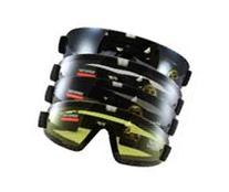 Birdz Wing Face Hugging  Riding Goggles with 4 Sets of