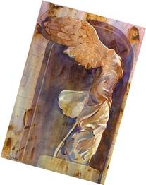 The Winged Victory, Giclee Print of Watercolor Painting,