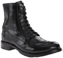Men's Bed Stu 'Hugh' Wingtip Boot, Size 8 M - Black