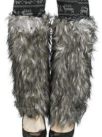 Simplicity® Women's Winter Faux Fur Leg Warmers Warm Fuzzy