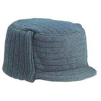 Charcoal Winter Flat Top Jeep Cap Hat