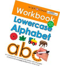 Wipe Clean Workbook Lowercase Alphabet