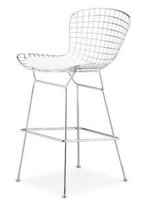 Zuo Wire Bar Chair Chrome