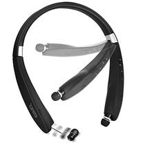 Wireless Bluetooth 4.1 Headset, Retractable and Foldable