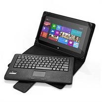 Poweradd Wireless Bluetooth Keyboard with Touch Pad with PU